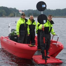 Ny arbetsbåt