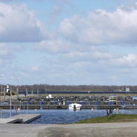 Höststädning hamnen 6 oktober