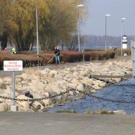 Vårstädning hamnen 6 April kl 10.00